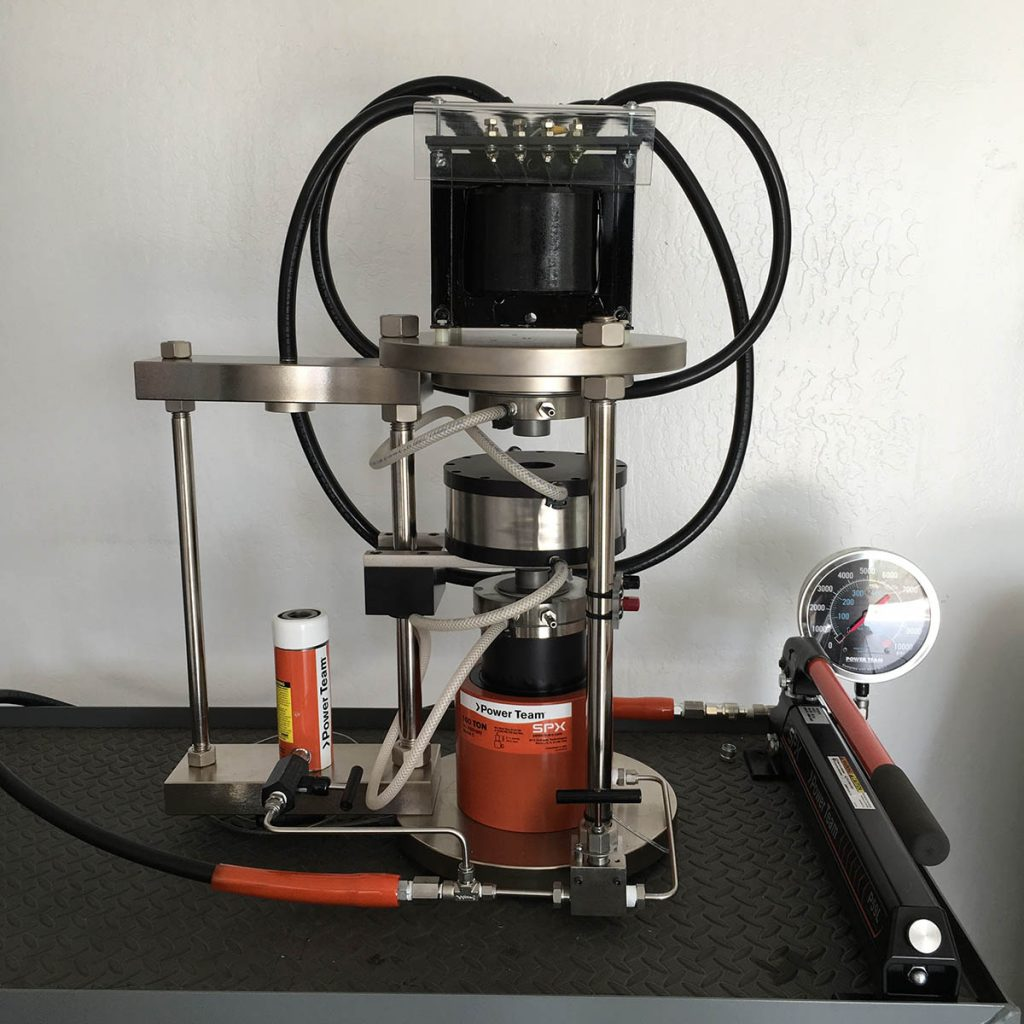 QUICKpress piston cylinder apparatus